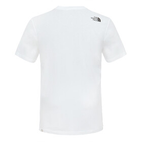 The North Face Easy Lyhythihainen T-paita Miehet, tnf white